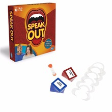 1 pcs/lot speak out game best selling board game interesting party game