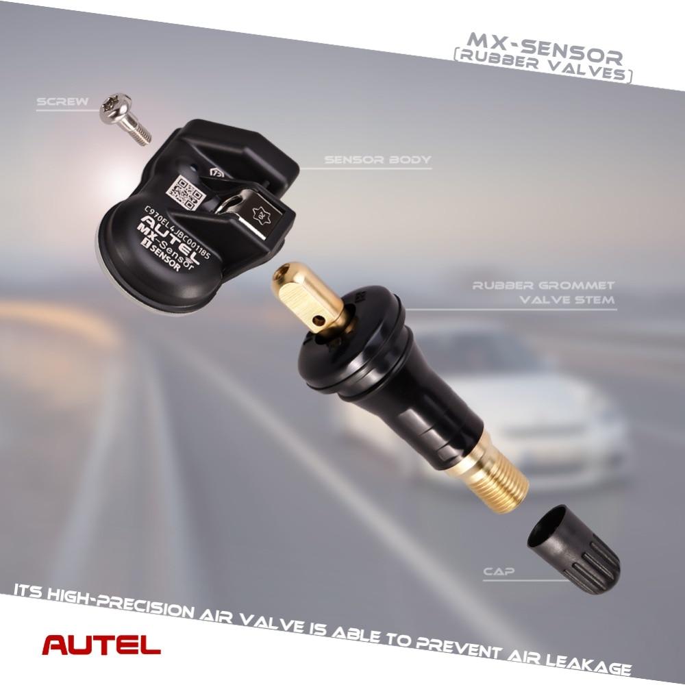 Image 5 - Autel TPMS MX Sensor 2 in 1 Sensor 433MHz 315MHz Programmer Universal TPMS Sensor Pressure Tester Programming MaxiTPMS TS601-in Pressure & Vacuum Testers from Automobiles & Motorcycles
