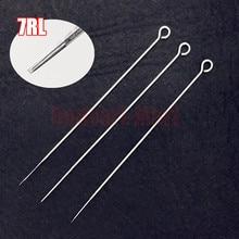 50pcs 7RL Tattoo Sterile Round Liner Needles RL75 Disposable Tattoo Sterilized Needles 0.35mm PIN Supply 1207RL#