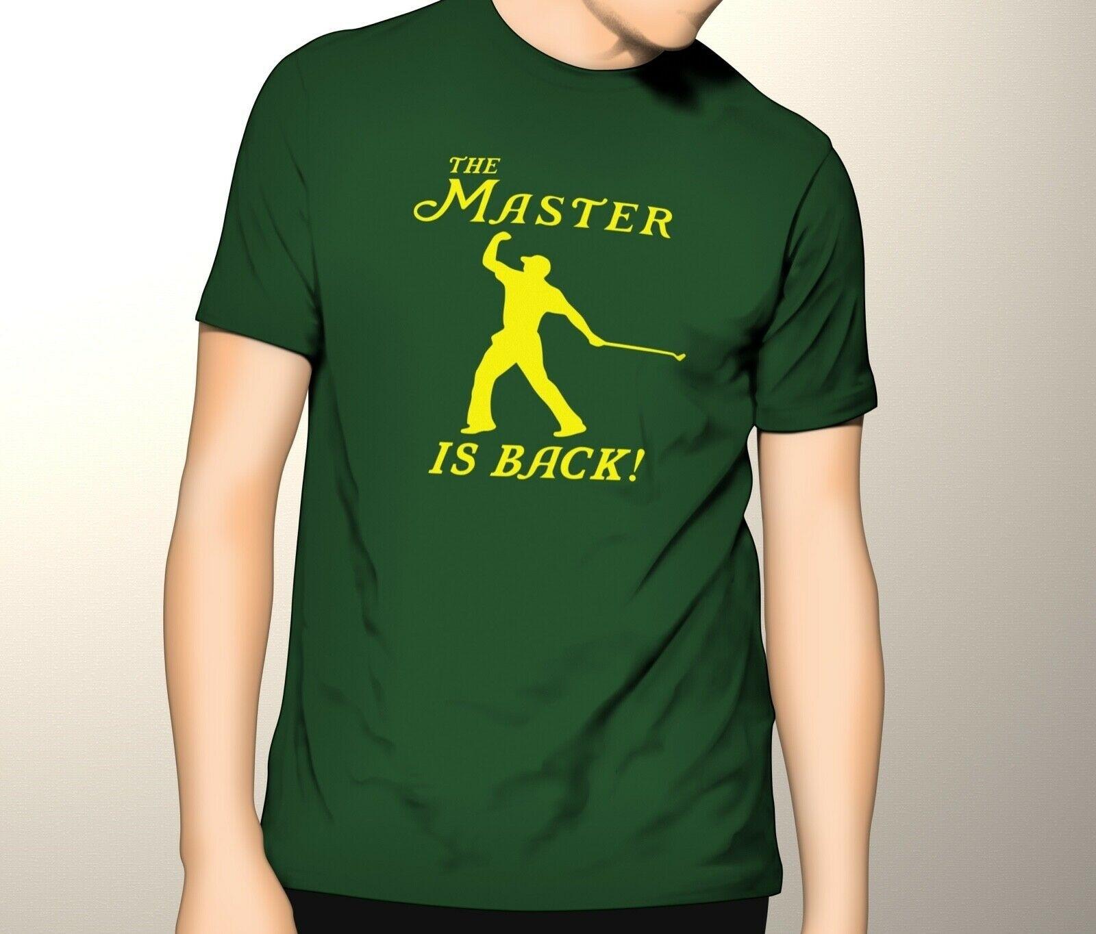 100% Wahr Hahayule-jbh Die Master Ist Zurück Tiger Woods 2019 Master Champion T-shirt футболка женская Schmuck & Zubehör