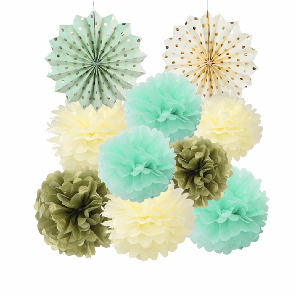 Origami paper ball reviews online shopping origami paper ball 10pcs mixed 20cm 25cm 30cm pompoms pom pom balls origami paper fan wedding baby shower party decoration supplies dhlflorist Image collections