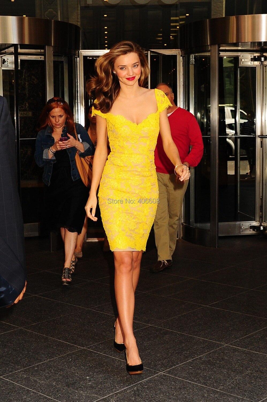 Knee Length Red Carpet Dress