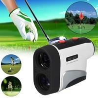 6X Telescope Golf Laser Range Finder Slope Distance Compensation Club With Case