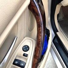 Для BMW New 3 4 Series F30 F35 2012 2013 2014 2015 2016 2 шт./компл. панель дверной ручки автомобиля Натяжной подлокотник быстрая установка крышка