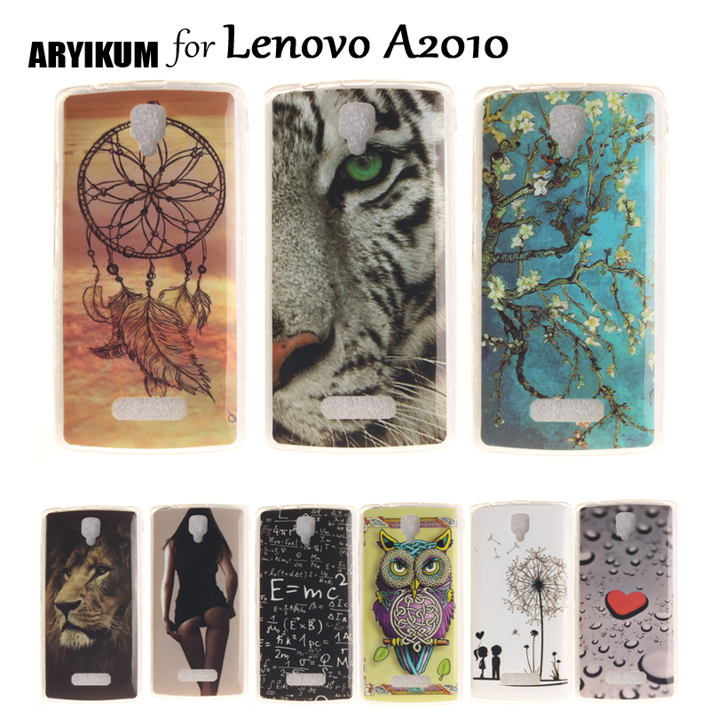 ARYIKUM Bumper Cases For Lenovo A2010 A 2010 Case TPU Silicone Mobile Phone Accessories Back Covers For Lenovo A2010A A2010-A ...
