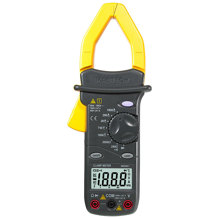 MS2001 Professional digital Digital AC Clamp Meter Resistance Insulation Tester Digital Earth Ground Megohmmeter Tester