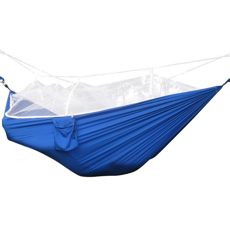Hearty Outdoor Double Parachute Net Hammock Chair Tourism Garden Swing Sleeping Camping Bag Hangmat Sleeping Hamac Quell Summer Thirst Sports & Entertainment Camping & Hiking