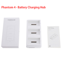 Original DJI Phantom 4 – Battery Charging Hub used with Phantom 4 Battery Charger charge up to 3 Intelligent Flight Batteries