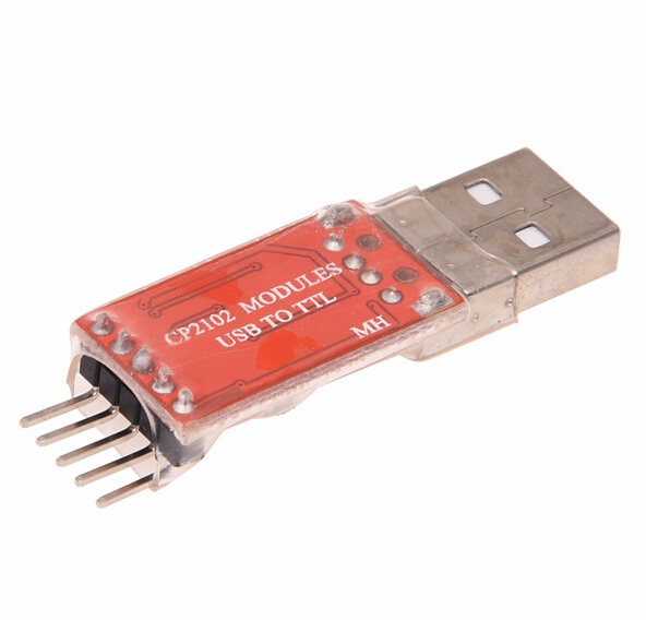 3. 3V to TTL UART Module Serial Converter Download USB drive wire brush CP2102 STC gift Dupont rs485 to ttl communication module 3 3v