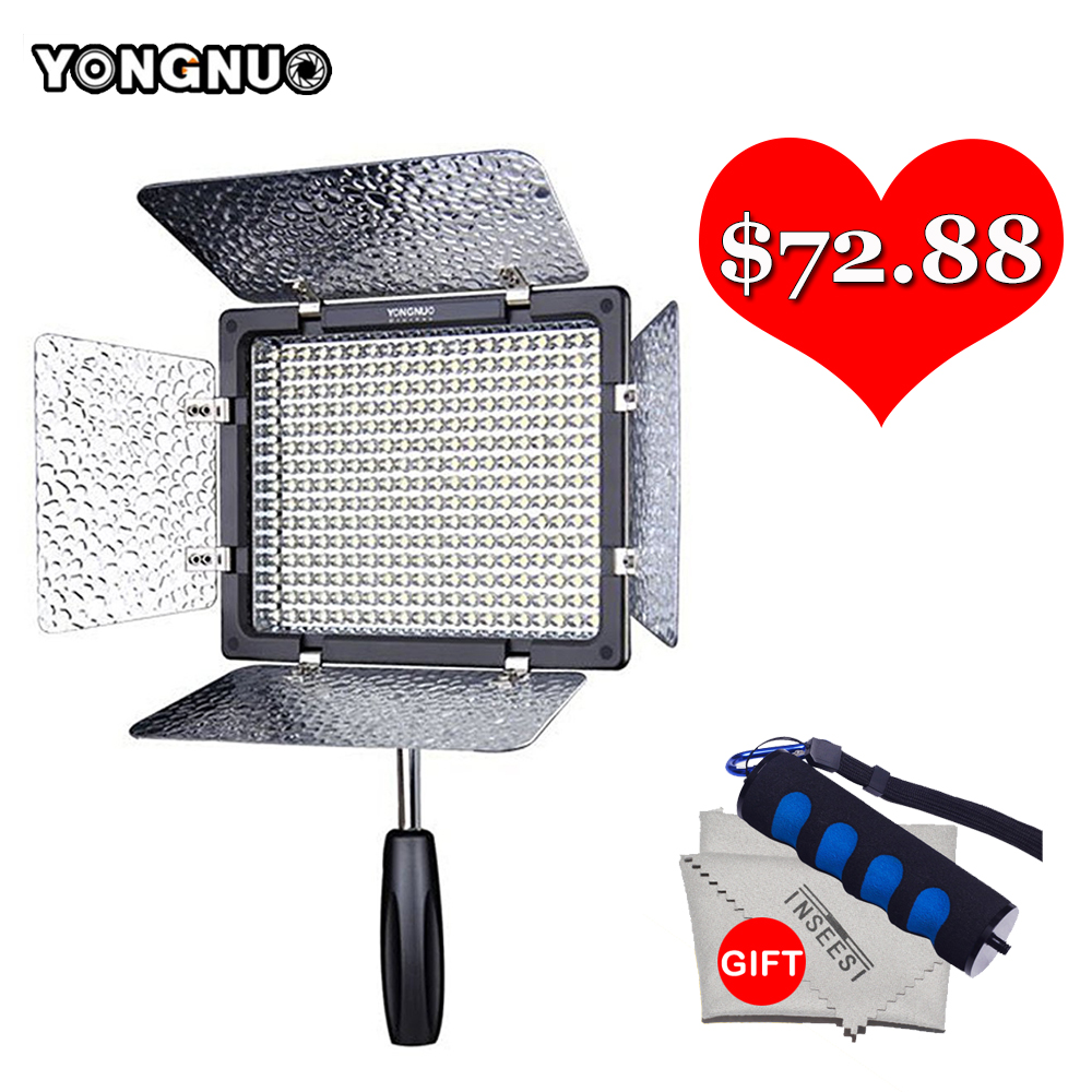Yongnuo YN300 III 5500K LED Video Light YN-300 III DSLR Camera Photo Studio Lighting Lamp For Canon Nikon Pentax Olympus Samsung yongnuo yn300 air 3200k 5500k yn 300 air pro led camera video light with np f550 battery and charger for canon nikon