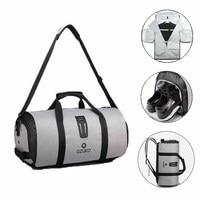 OZUKO 9209 Men Travel Garment Bag Women Duffel Bag Hanging Suitcase Clothing Business Backpack Bag Multiple Pockets