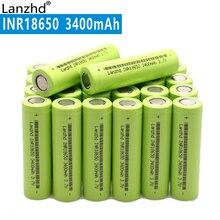 Новый 18650 3,7 В 3400 мАч оригинальный INR18650 литий-ионная 30a большой ток Батарея для ноутбука мобильных устройств ноутбук (10-40)