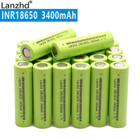 NEW 18650 3.7V 3400mAh Original INR18650 rechargeable li ion 30a large current Battery For Laptop mobile power notebook (10 40)