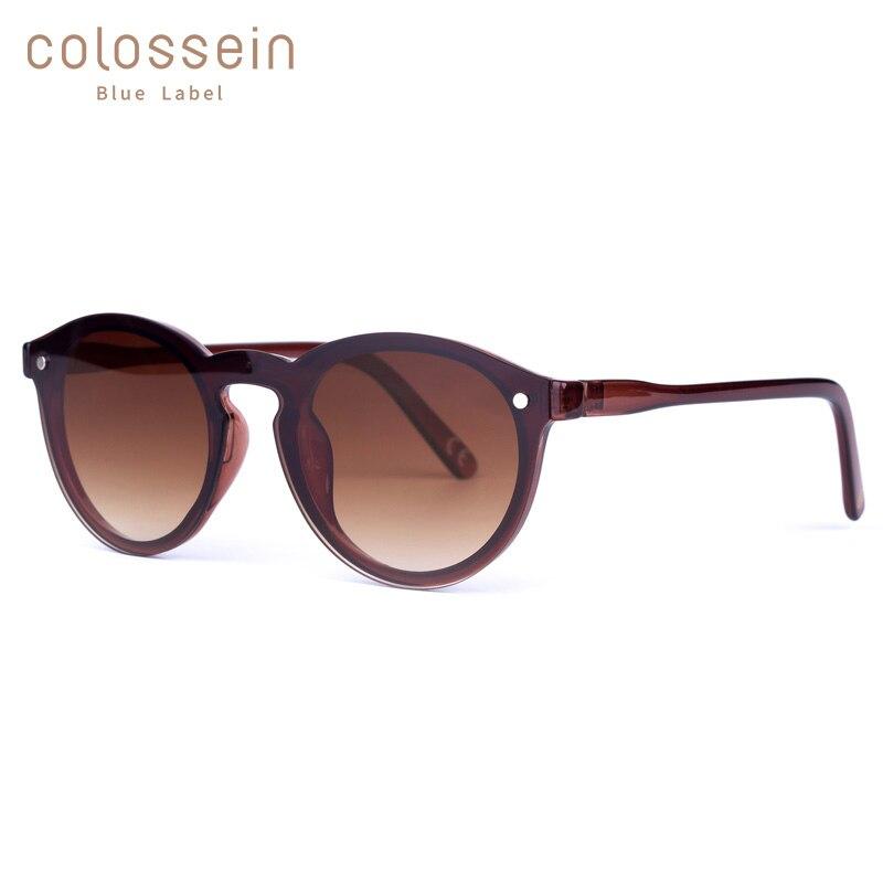 Colossin pinglas óculos de sol olho de gato mulher marrom quadro eyewear revestimento do vintage novo estilo de moda oculos de sol feminino uv400