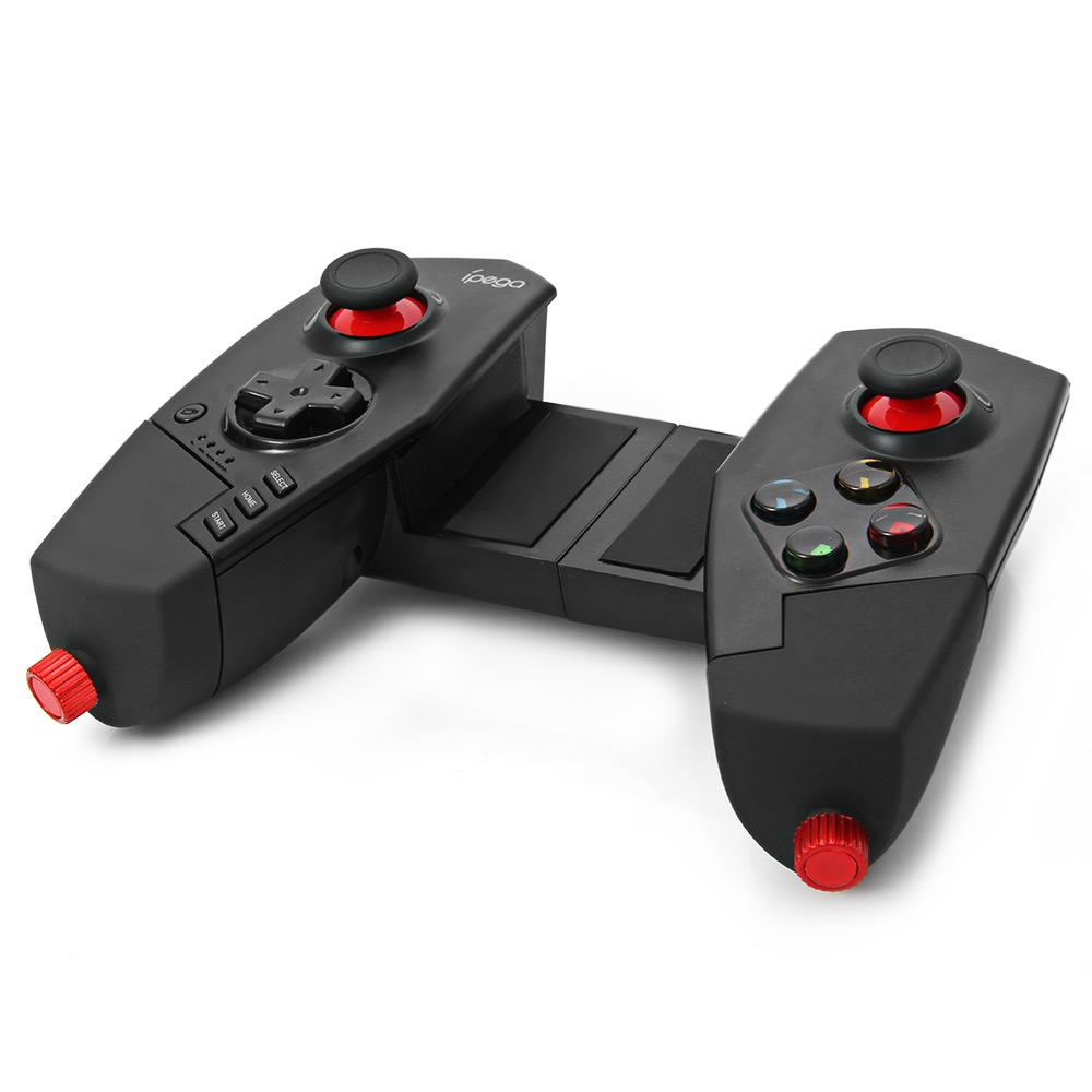 Wireless Bluetooth Game Controller Joystick with Stretch Bracket for iOS ipad Android Smartphone TV TV Box GAME gamepad
