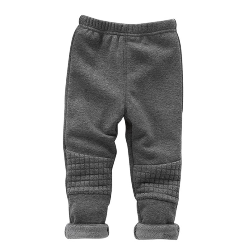 winter children sport pants baby boys girls pants warm clothes pants kids plus velvet thickening trousers kids leggings ...