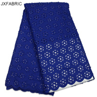 JXFABRIC Latest African Tulle Lace Net Lace Fabric With Beads And Stones High Quality Nigerian French