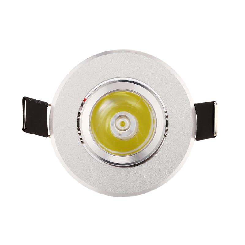 10pcs 1w 3w 85-265V LED Οροφής Ασημί Διάταξη - Εσωτερικός φωτισμός - Φωτογραφία 2