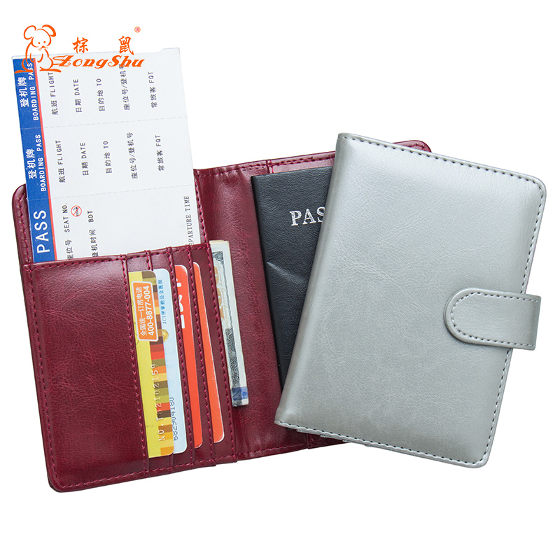 Back To Search Resultsluggage & Bags Russian Oil Soft And Solid Brown Double Eagle Travel Passport Holder Built In Rfid Blocking Protect Personal Information To Rank First Among Similar Products