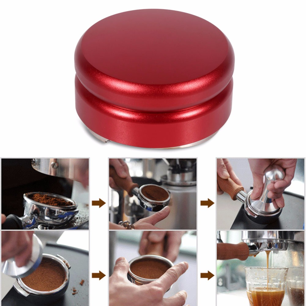 Best Coffee Grinder Manual Coffee Grinder Diagnostic Tool Stainless Steel 58mm Handmade Blue Coffee Espresso Tamper