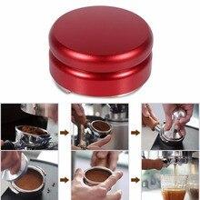 Beste Kaffeemühle Manuelle Kaffeemühle Diagnose-Tool Edelstahl 58mm Handmade Blau Kaffee Espresso Tamper Drinder Werkzeug