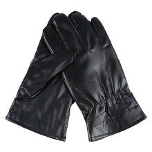 Dongzhen Motorcycle gloves Winter touch screen gloves Warm guantes leather gloves motorcycle plus cashmere wind outdoor riding