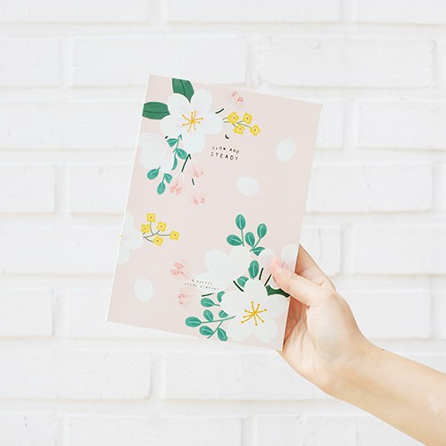 Romantic Floral Design 6 Months Study Planner 176P Korean Fashion Stationery Gift Free Shipping tms320f28335 tms320f28335ptpq lqfp 176