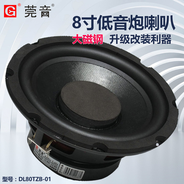 Audio lab  professional 100W high power 8 inch active subwoofer home theatre hifi bass speaker 1