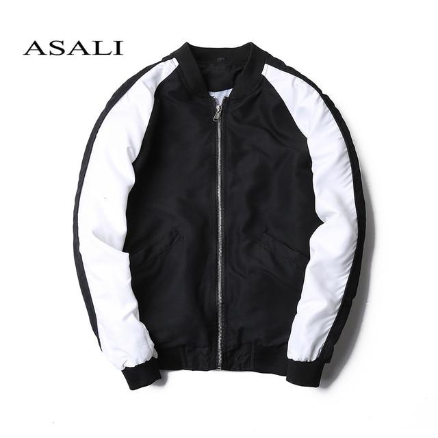 patchwork mens bomber jacket