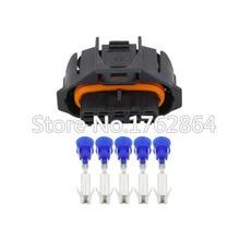 5PCS 5 Pin DJB7059Y-3.5-21 Female Waterproof Automotive Connector MAF 1928403738 BSK Oxygen Sensor Plug For Bosch 3.5mm