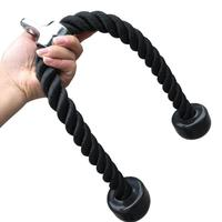 Cabo de musculação  68cm 2in corda de tricep multi ginásios push up puxar para baixo  cabo de musculação  transição muscular  casa  fitness  treino corda de puxar
