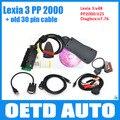 Top quality lexia3 Diagnostic Tool pp2000 lexia 3 for Citroen Peugeot l,Lexia 3 V48  PP2000 V25  Diagbox V7.76 auto scanner