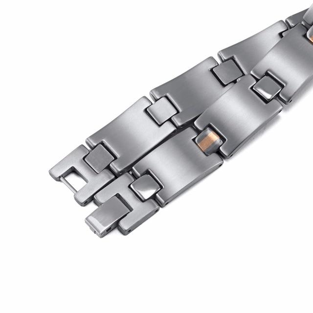 HTB1uTZlRVXXXXXTXpXXq6xXFXXXd - RainSo 2019 Fashion Titanium Bracelets & Bangles For Women Men Trendy Simple Generous Jewelry OTB-216  charm bracelets