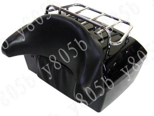 amazoncom ego bike black motorcycle trunk tour pack - 640×480