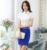 Senhoras OL Formal Estilos Profissionais Ternos de Trabalho de Negócios Com Tops E Saia Feminina Roupas de Verão Camisas Com Conjunto Saia