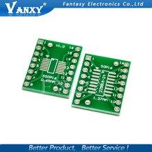 10PCS TSSOP16 SSOP16 SOP16 to DIP16 Transfer Board DIP Pin Board Pitch Adapter