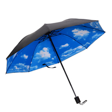 Hot Sale Mini Folding Umbrella Anti-UV Sun Rain Pocket Parasol Women for Men Gear