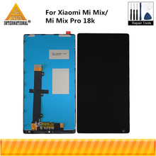"6.4""Original Axisinterantional For Xiaomi Mi MIX LCD Screen Display+Touch Panel Digitizer Frame For Xiaomi Mi Mix Pro 18k"