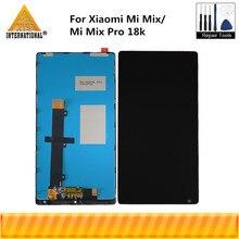 """6.4 """"orijinal Axisinterantional Xiaomi Mi MIX için LCD ekran + dokunmatik Panel sayısallaştırıcı çerçeve için Xiaomi Mi Mix pro 18k"""