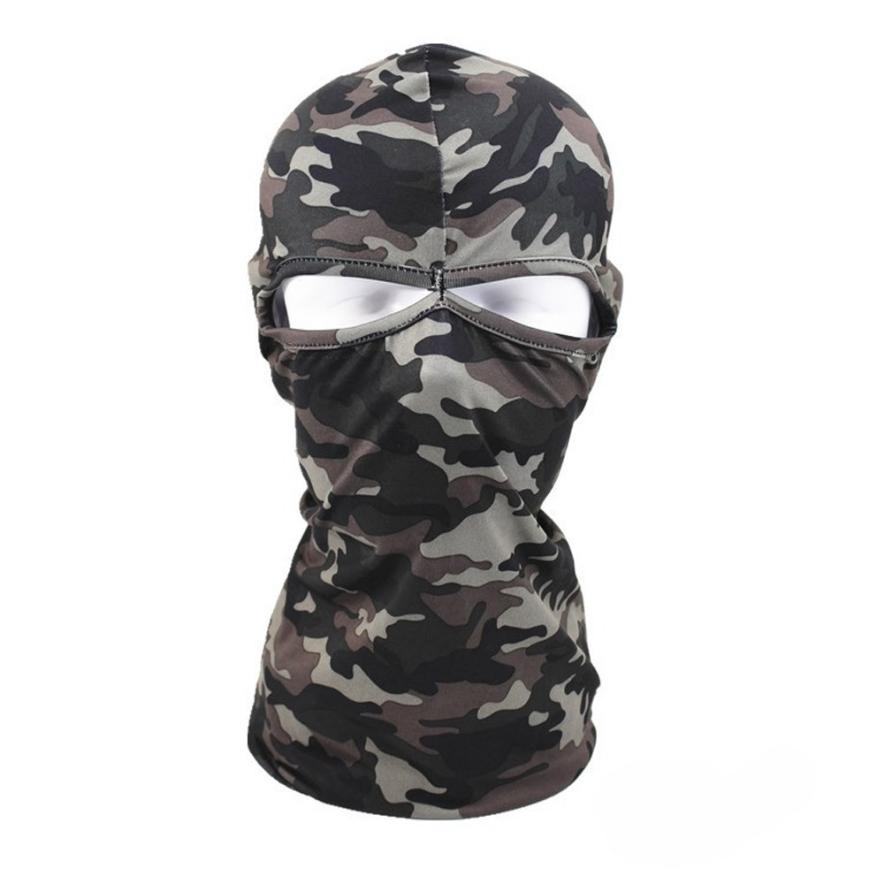 1PC Tactical Motorcycle Cycling Hunting Outdoor Ski Full Face Mask Helmet Windproof Soft Snowboard Face Protective Masks P40