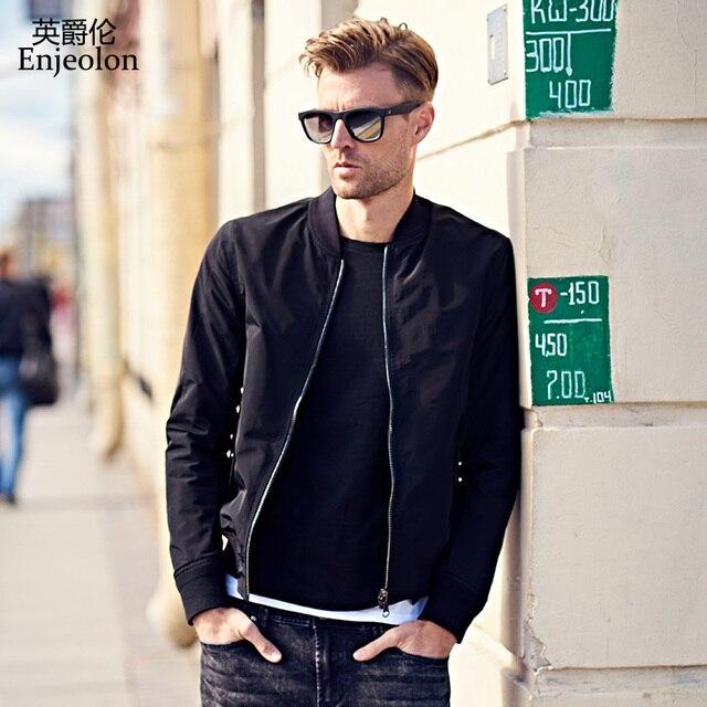 Enjeolon brand casual Bomber jackets coat men c1af94e6c03