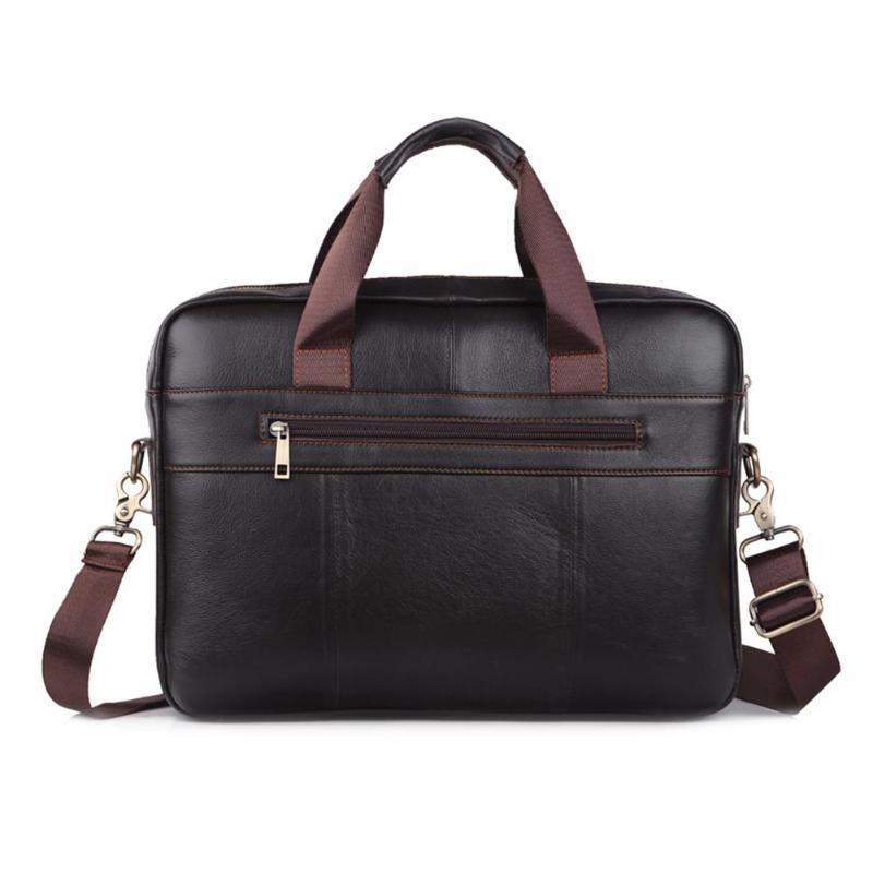 Hommes grand ordinateur portable sacs à main homme d'affaires sac à bandoulière décontracté solide bandoulière Messenger sac mallette sac portable cuir homme nouveau