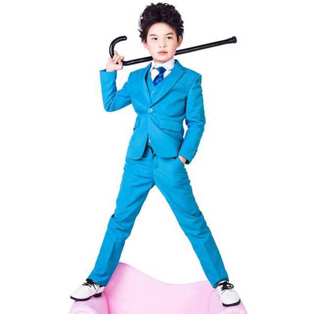 Высокое качество элегантный почетным малыш смокинги мальчика камвольно цвет регулярный специальный свадебный YIYI мальчиков наряд BA001