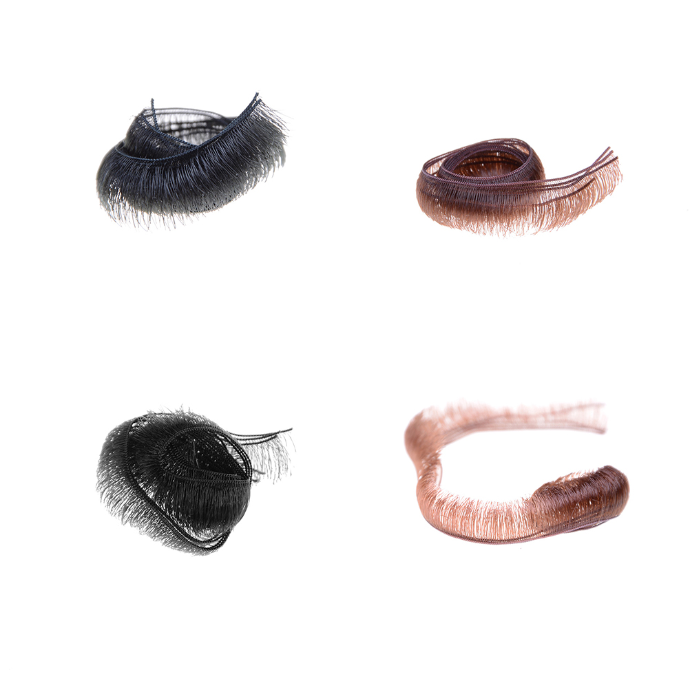 Wholesale 5pcs/lot Eyelashes For Doll Baby Dolls Accessories Accessory 0.5/0.8/1.0cm Width