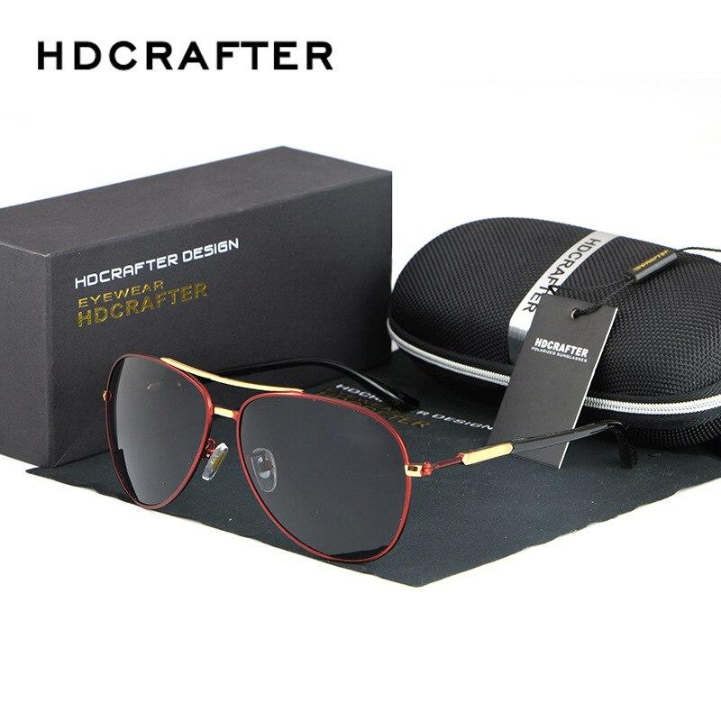 HDCRAFTER font b Fashionable b font Metal Sunglasses Men Reflective Sun Glasses Outdoors Square font b