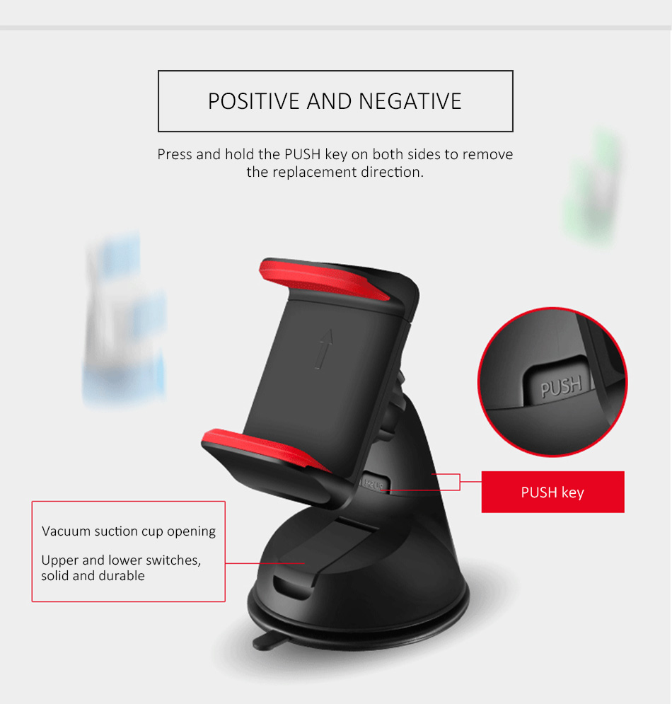 ESVNE Uniwersalny Telefon Samochodowy uchwyt szyby zamontować uchwyt na telefon komórkowy stojak uchwyt Samochodowy uchwyt na telefon Komórkowy Smartfon Telefon 9