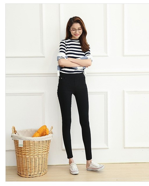 NEW Autumn Winter Pants XXXL 4XL Large Size for Sexy Elastic Cotton Soft Show Women All-match Leggings Pants Plus size 3 Colors