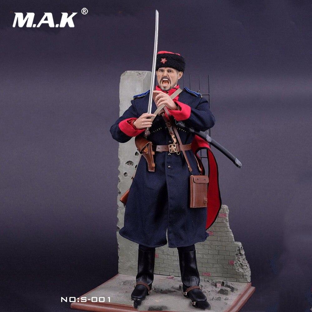 1:6 Mâle Vêtements Ensemble Uniforme Militaire Soviétique SECONDE GUERRE MONDIALE Armée Cosaque Cavalerie Vêtements Costume pour 12 pouces Man Action Figure Accessoire