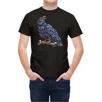 T Shirt Tattoo Style Crow Bird Good Quality Brand Cotton Shirt Summer Style Cool Shirts T