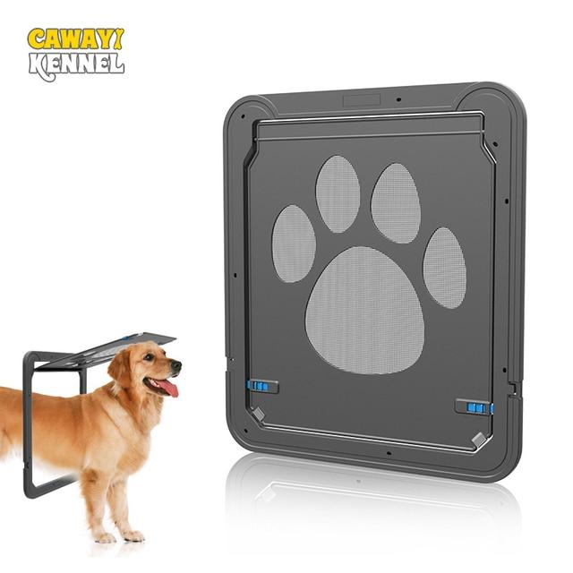 Lockable ABS Plastic Pet Cat Dog Screen Door